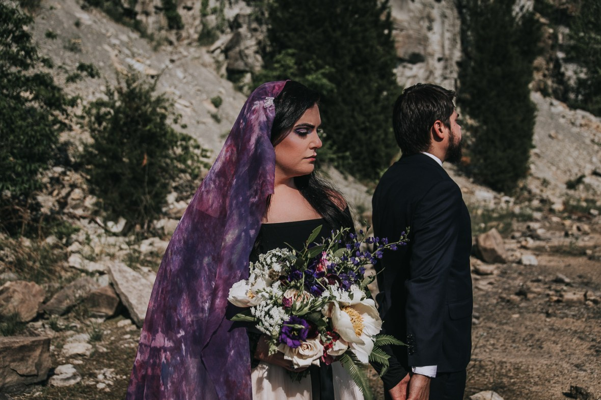 Galaxy Iridescent Wedding