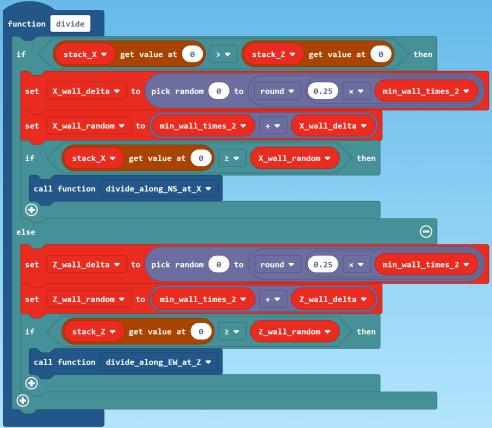 divide code