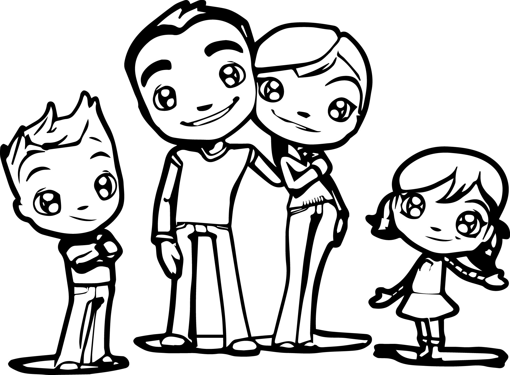 Character Coloring Pages