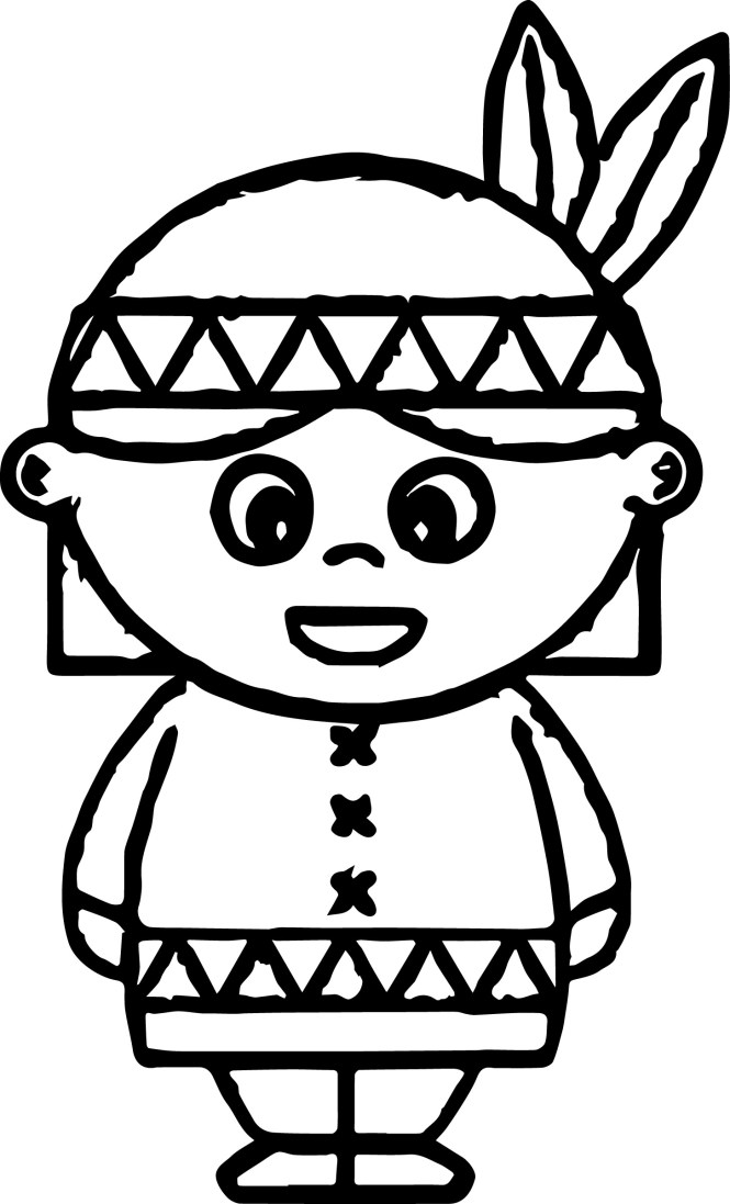 american indian coloring pages wecoloringpage - Indian Coloring Pages