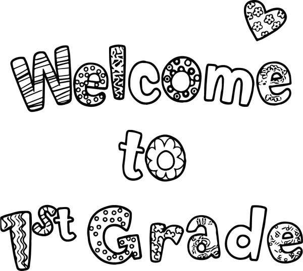 1st grade coloring pages # 21