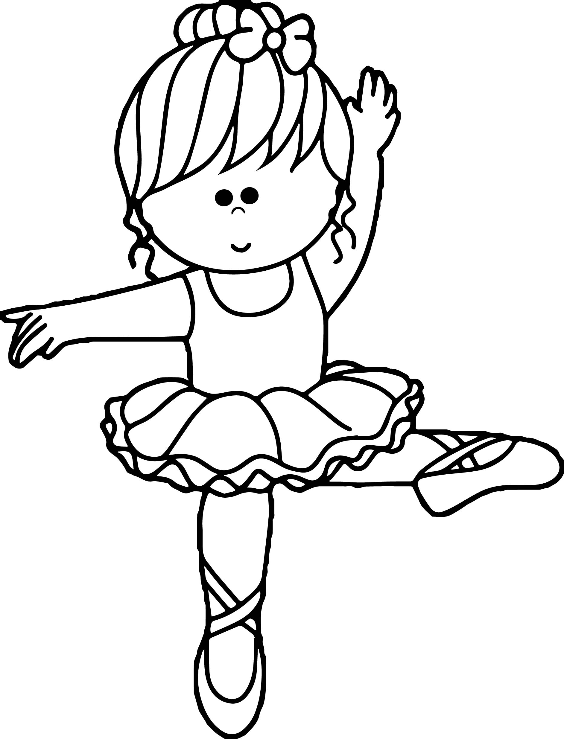 Ballerina Colouring Pages Coloring 28 Images Ballerina