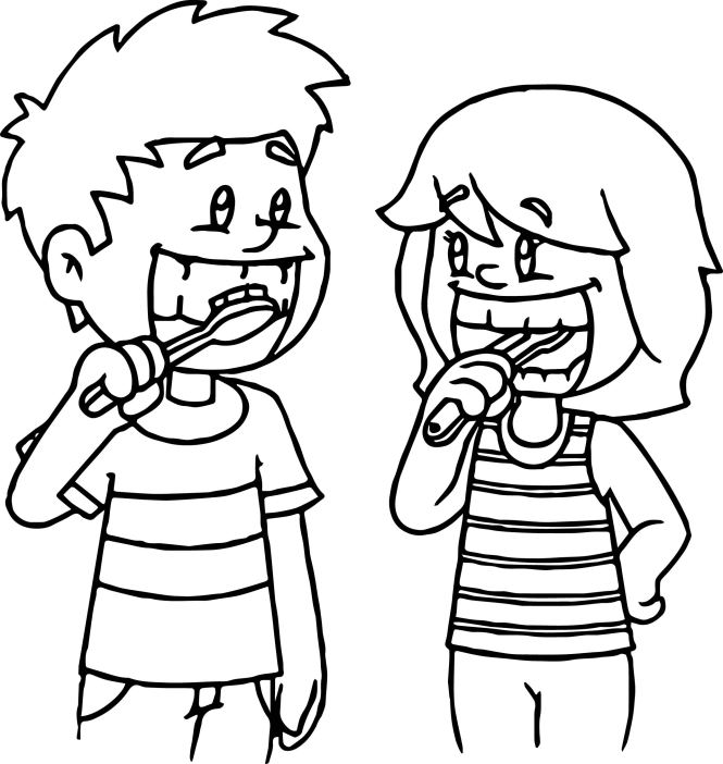 coloring pages of teeth   Coloring Page for kids