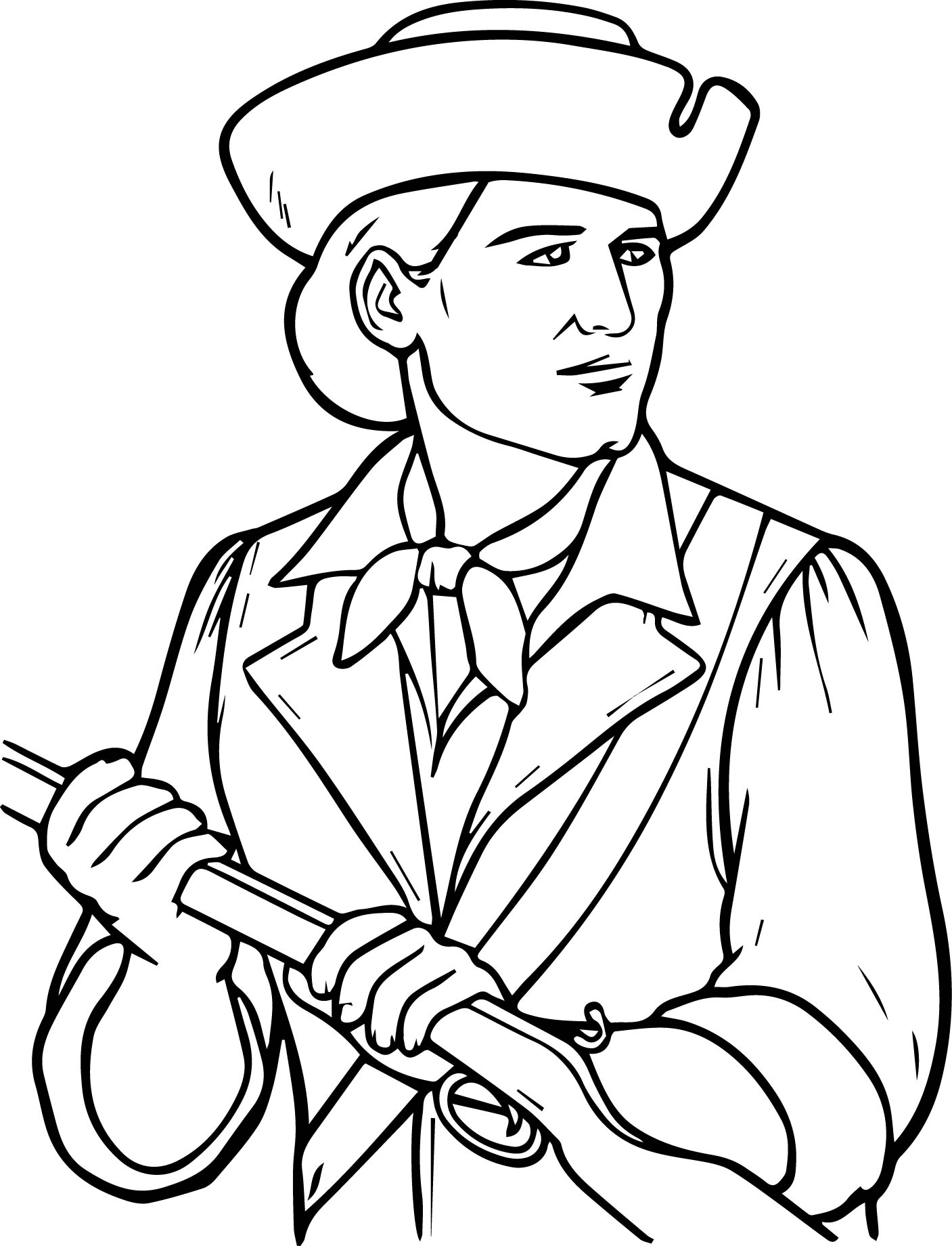 Usa Printables The Minutemen Coloring Pages America
