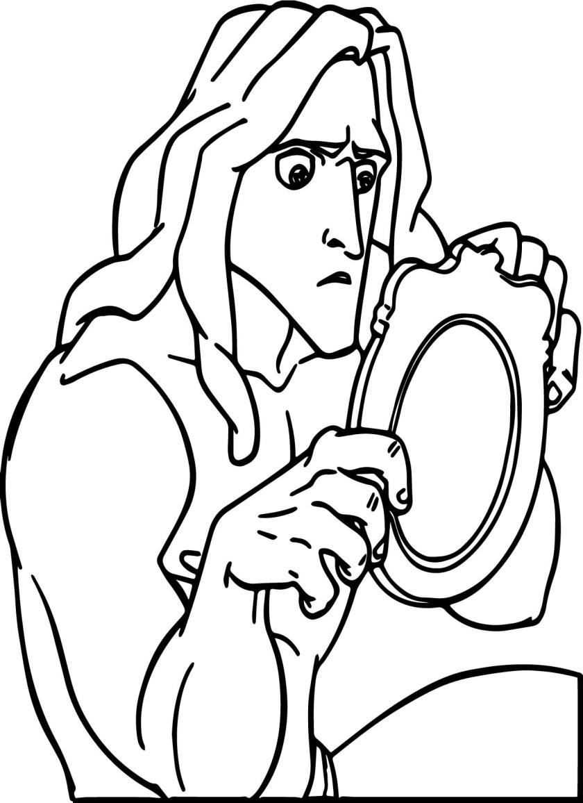 tarzan picture coloring page  wecoloringpage