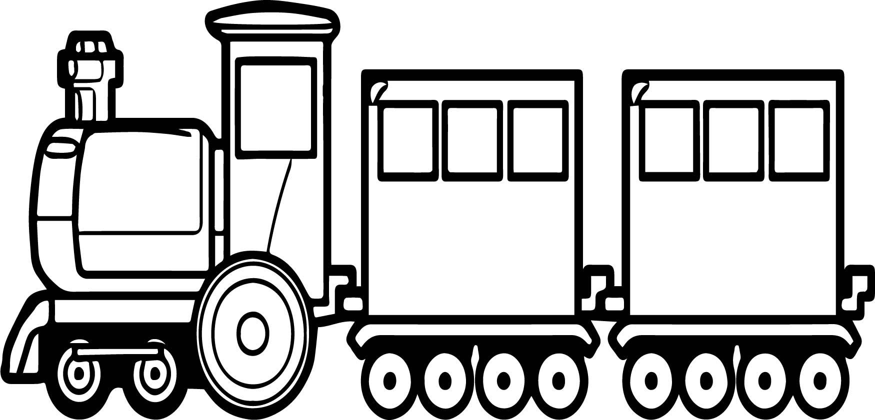 Go Train Coloring Page Wecoloringpage