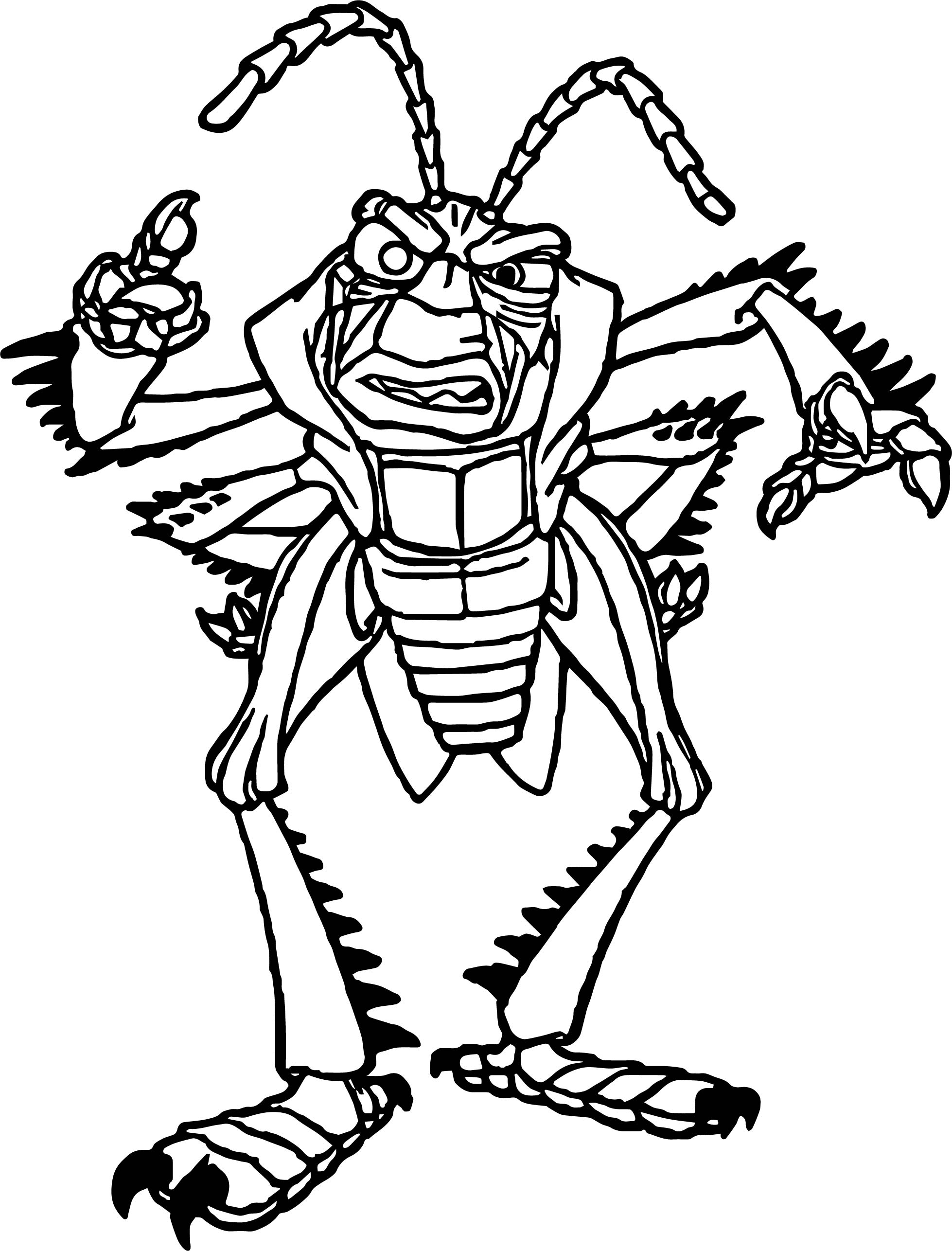 Bug Museum Coloring Pages Butterfly 2 Sketch Coloring Page