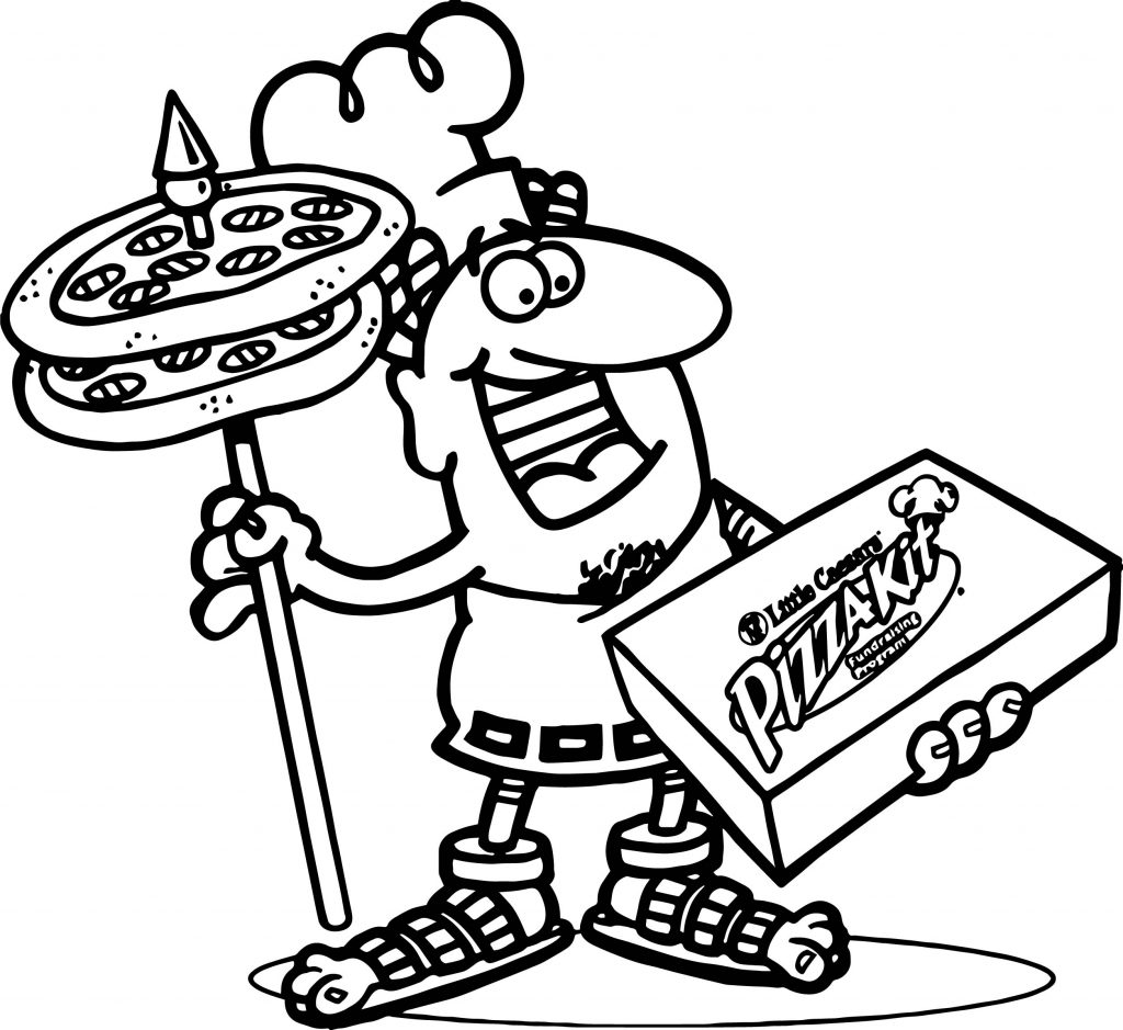 Cheese Pizza Coloring Page Get Pages Sketch Coloring Page