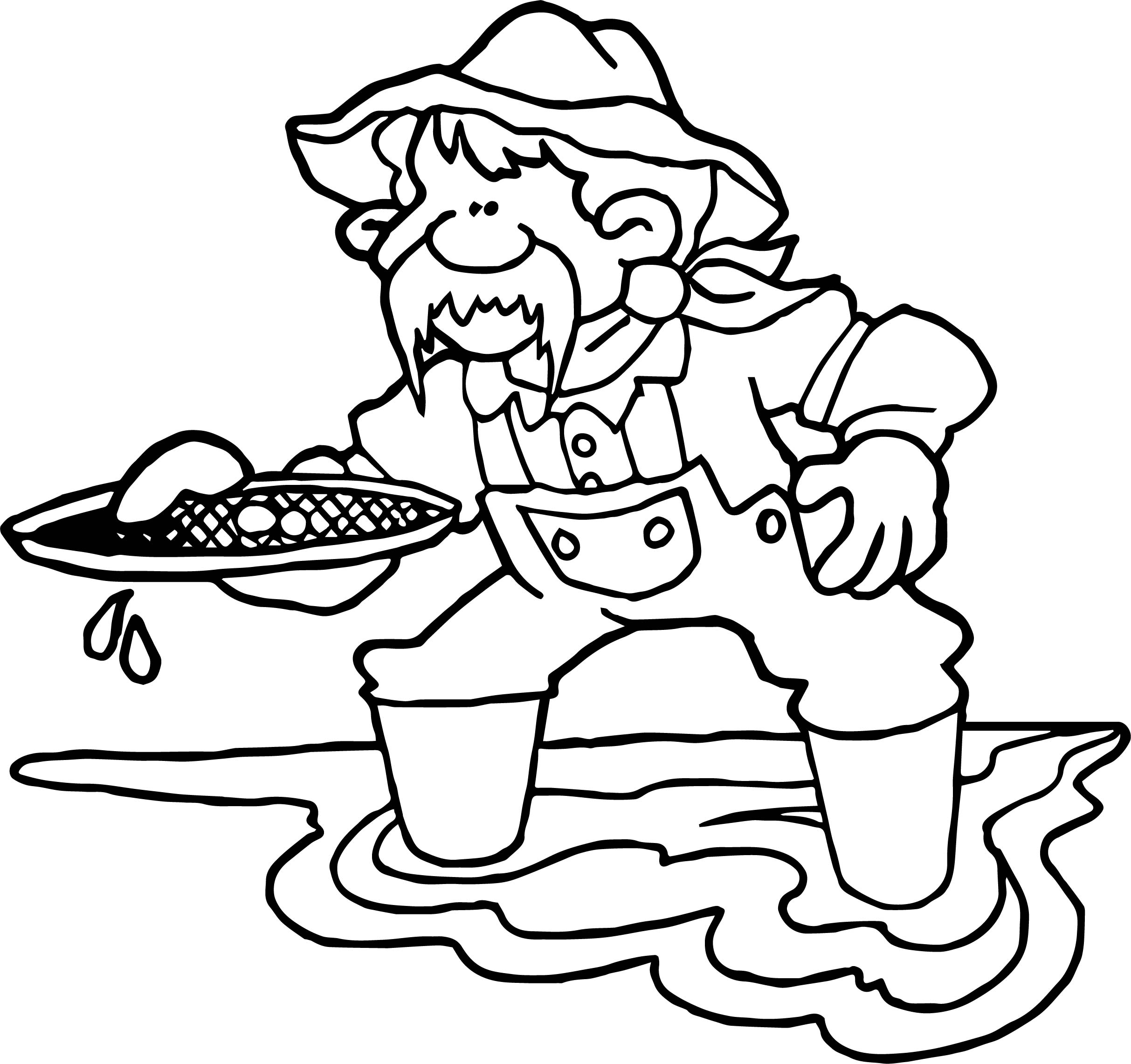 Gold Rush Coloring Pages Free