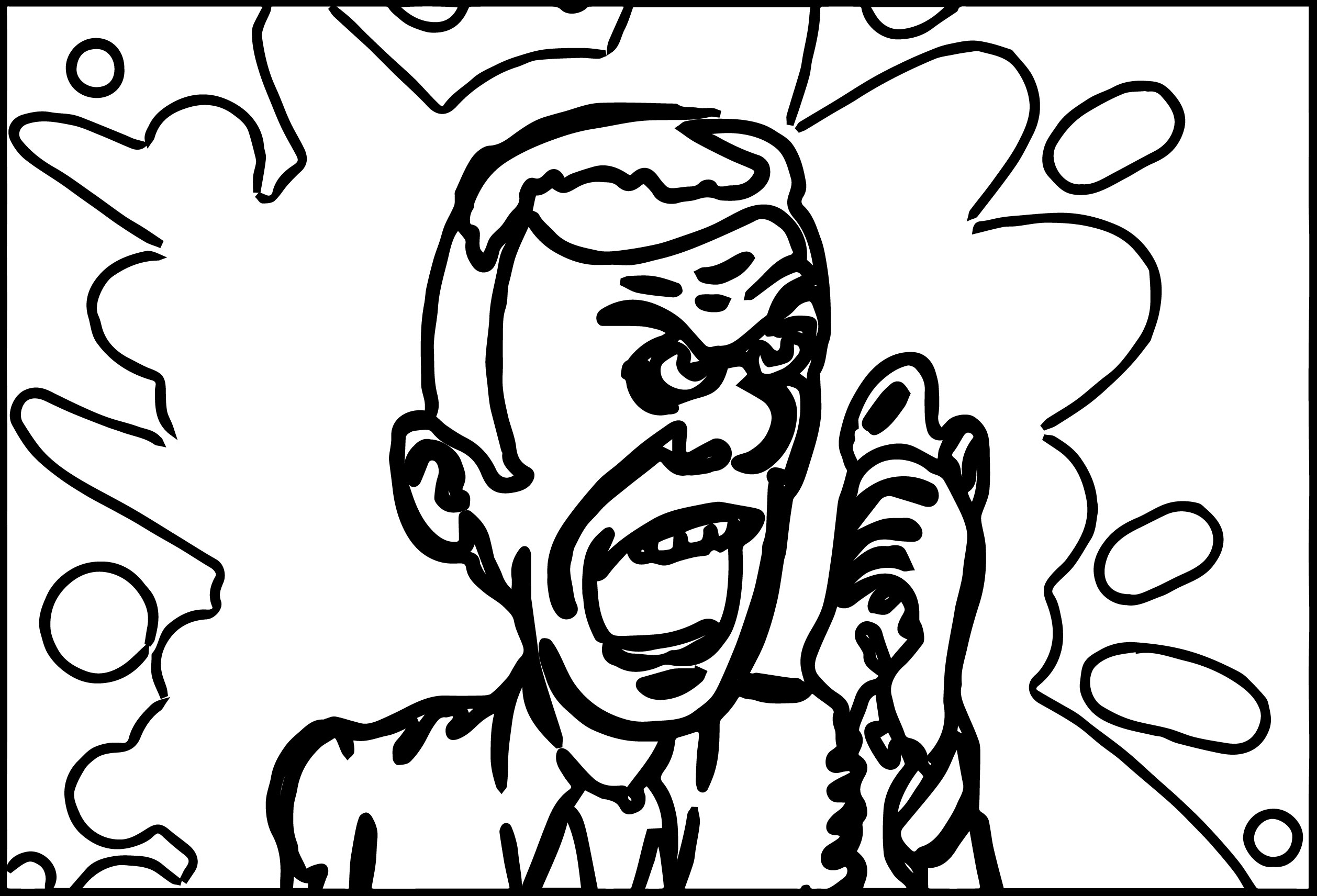 The Best Ideas For Anger Management Coloring Pages