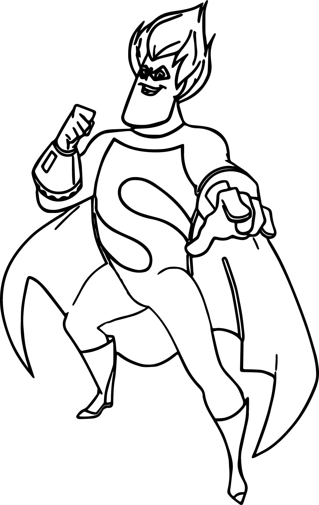 Syndrome Incredibles Coloring Pages
