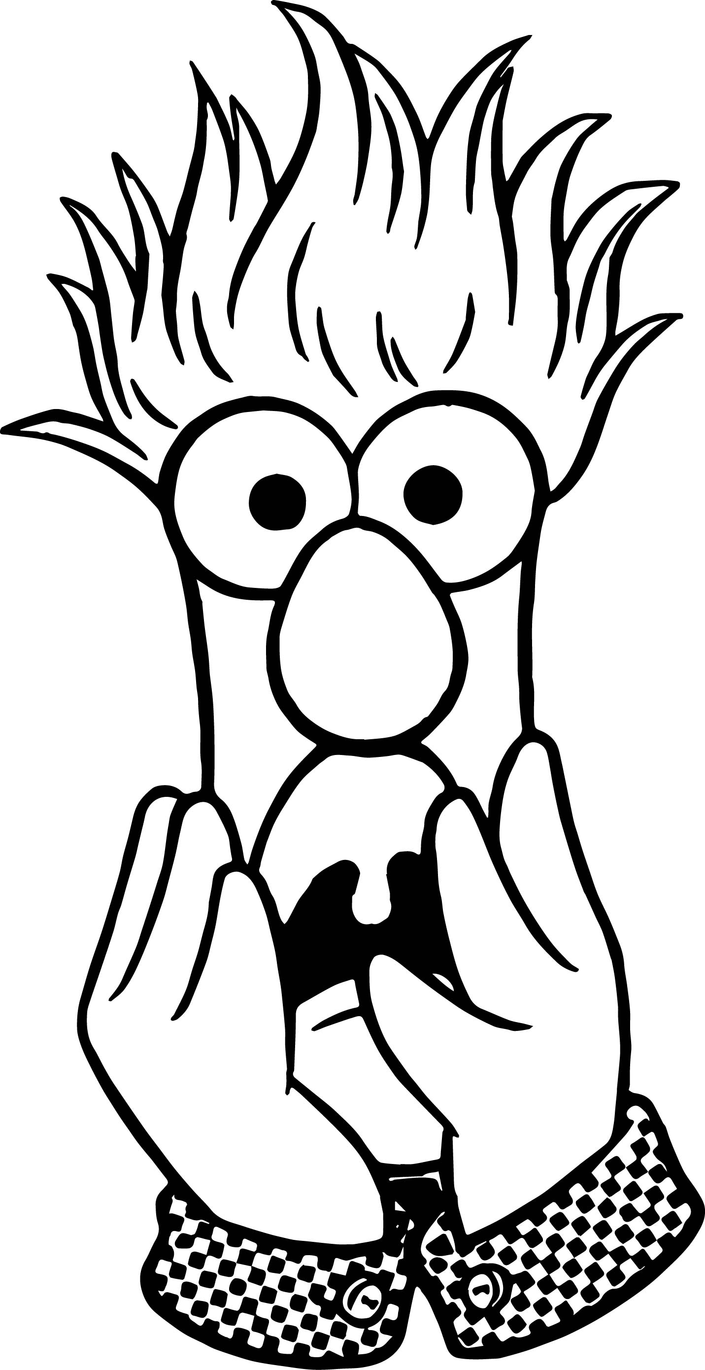 Beakers Coloring Coloring Pages