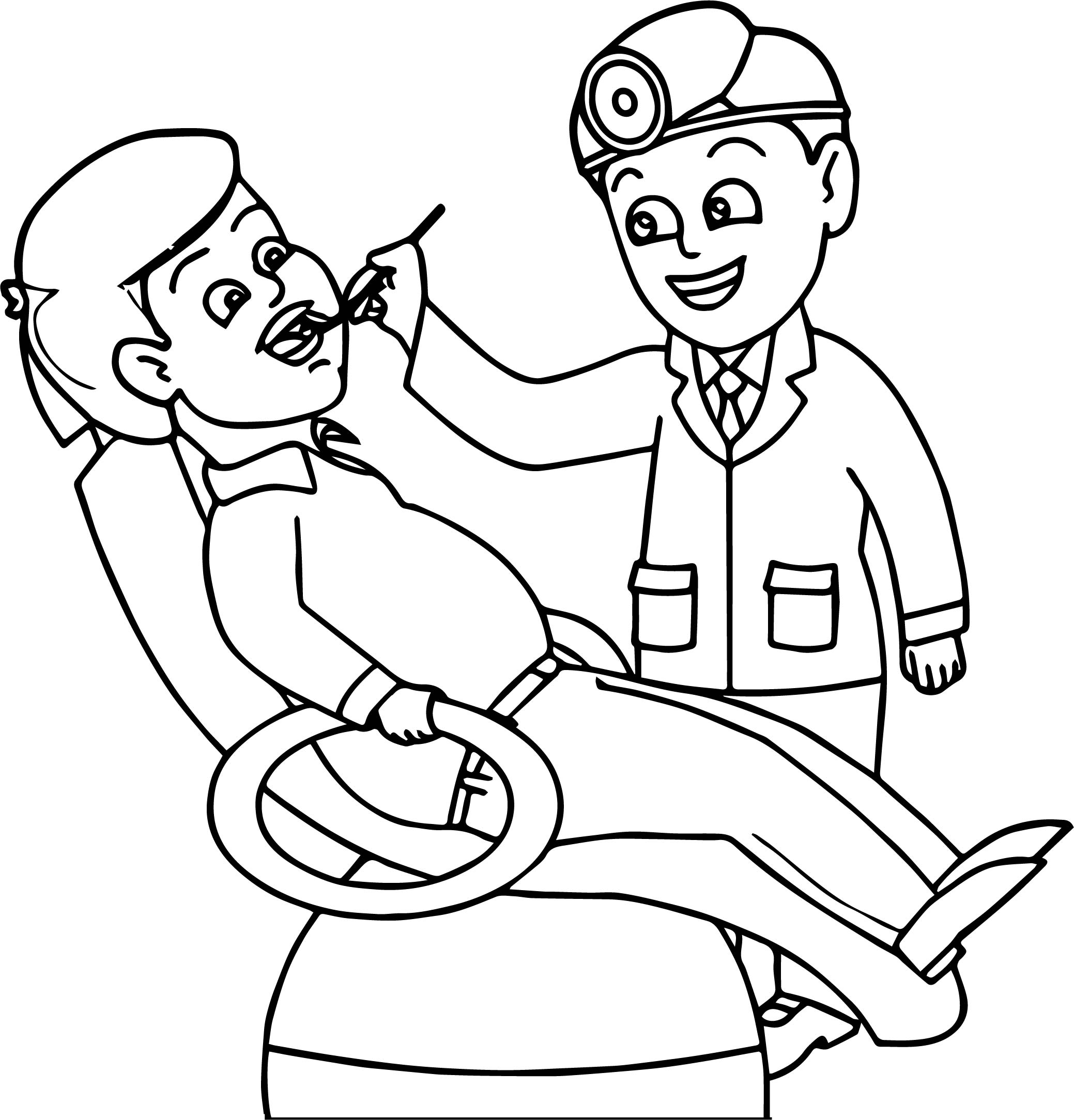 Dental Coloring Page Sheets Coloring Pages
