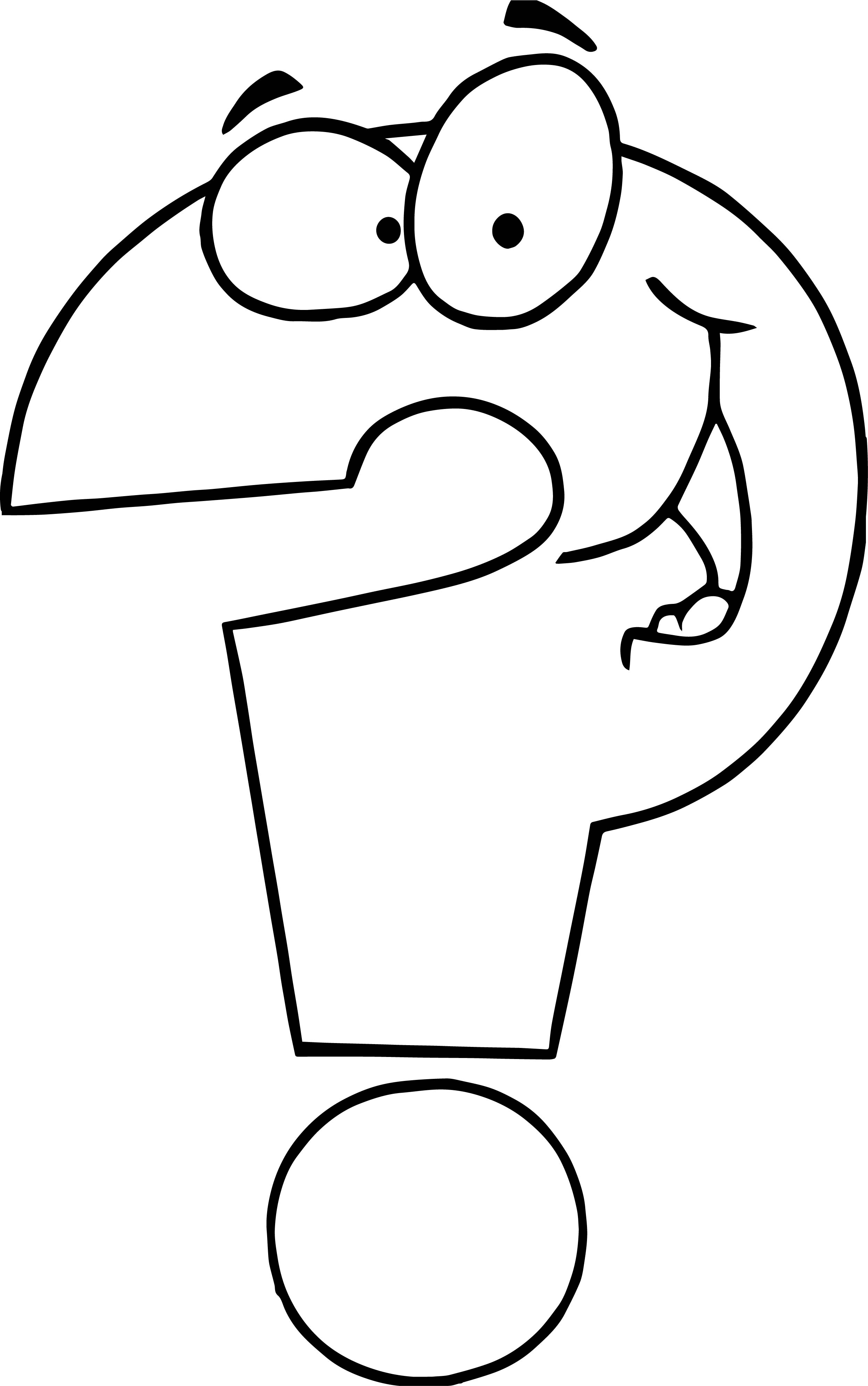 Any Question Coloring Page