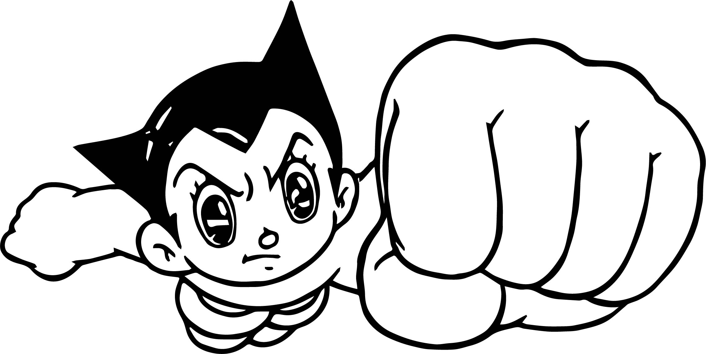 Astroboy Logo T Shirt Iron On Transfers Coloring Page
