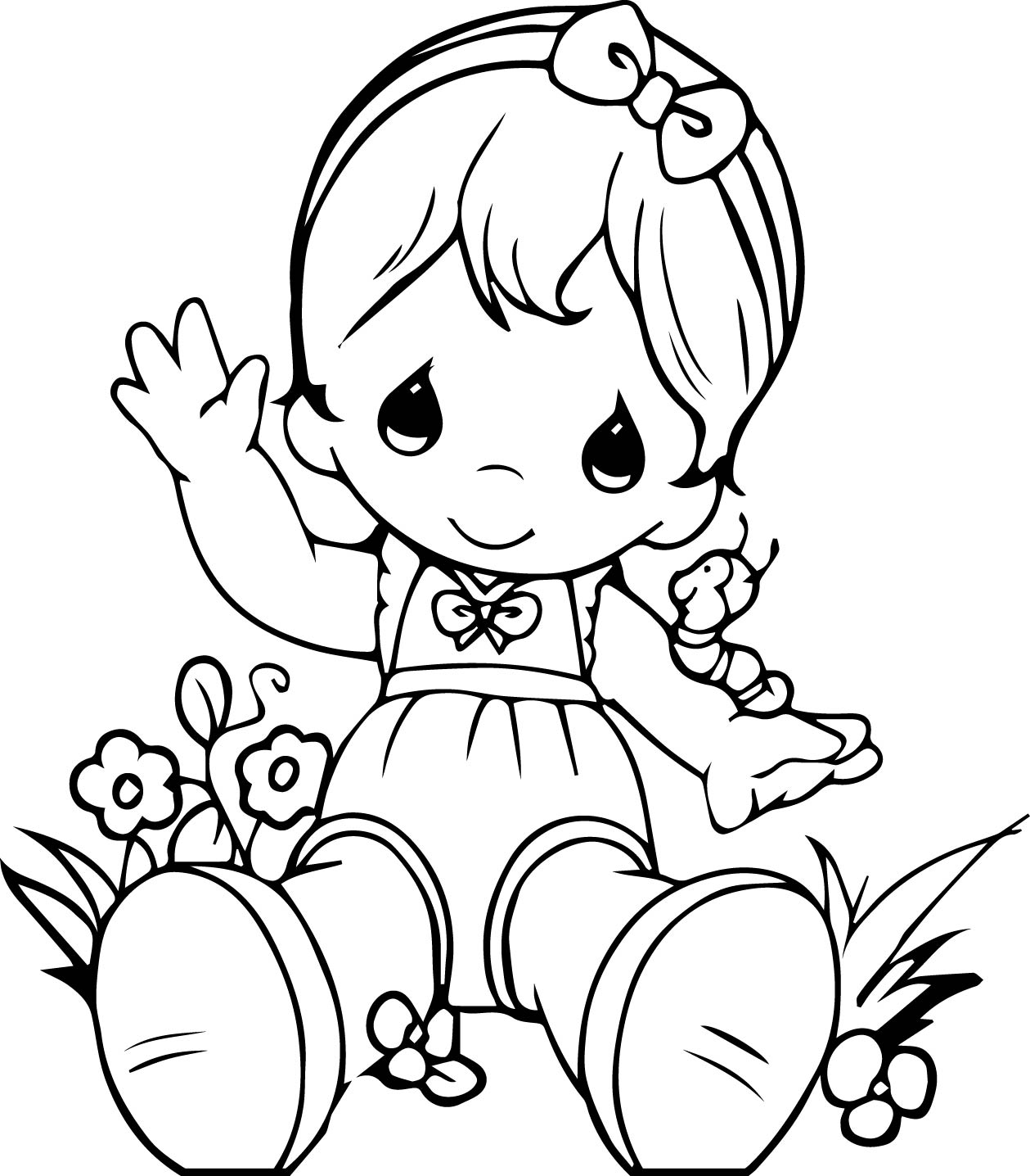 Precious moments girl coloring page wecoloringpagecom, precious moments love coloring pages