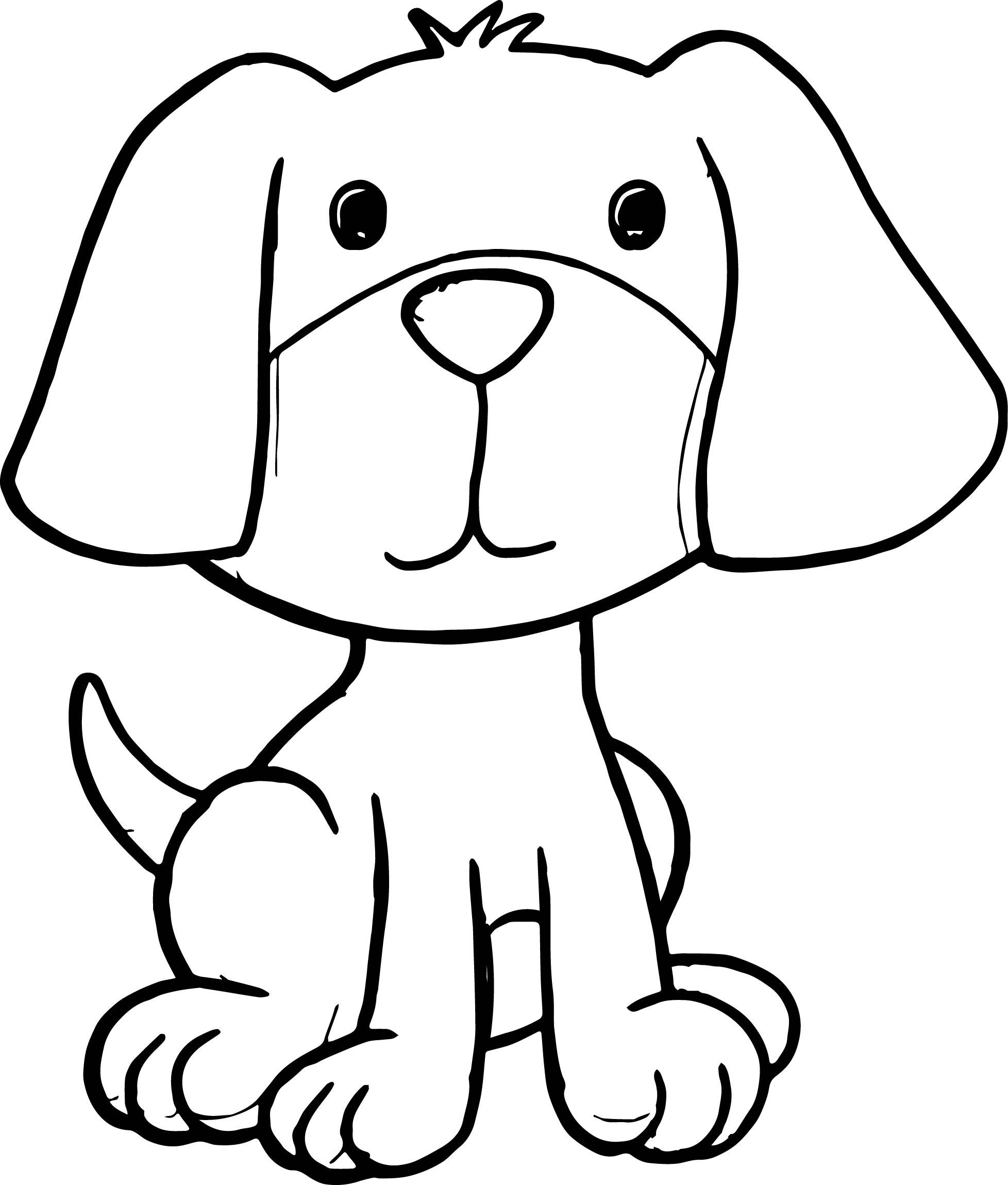Puppy Pictures Of Cute Cartoon Puppies Dog Puppy Coloring
