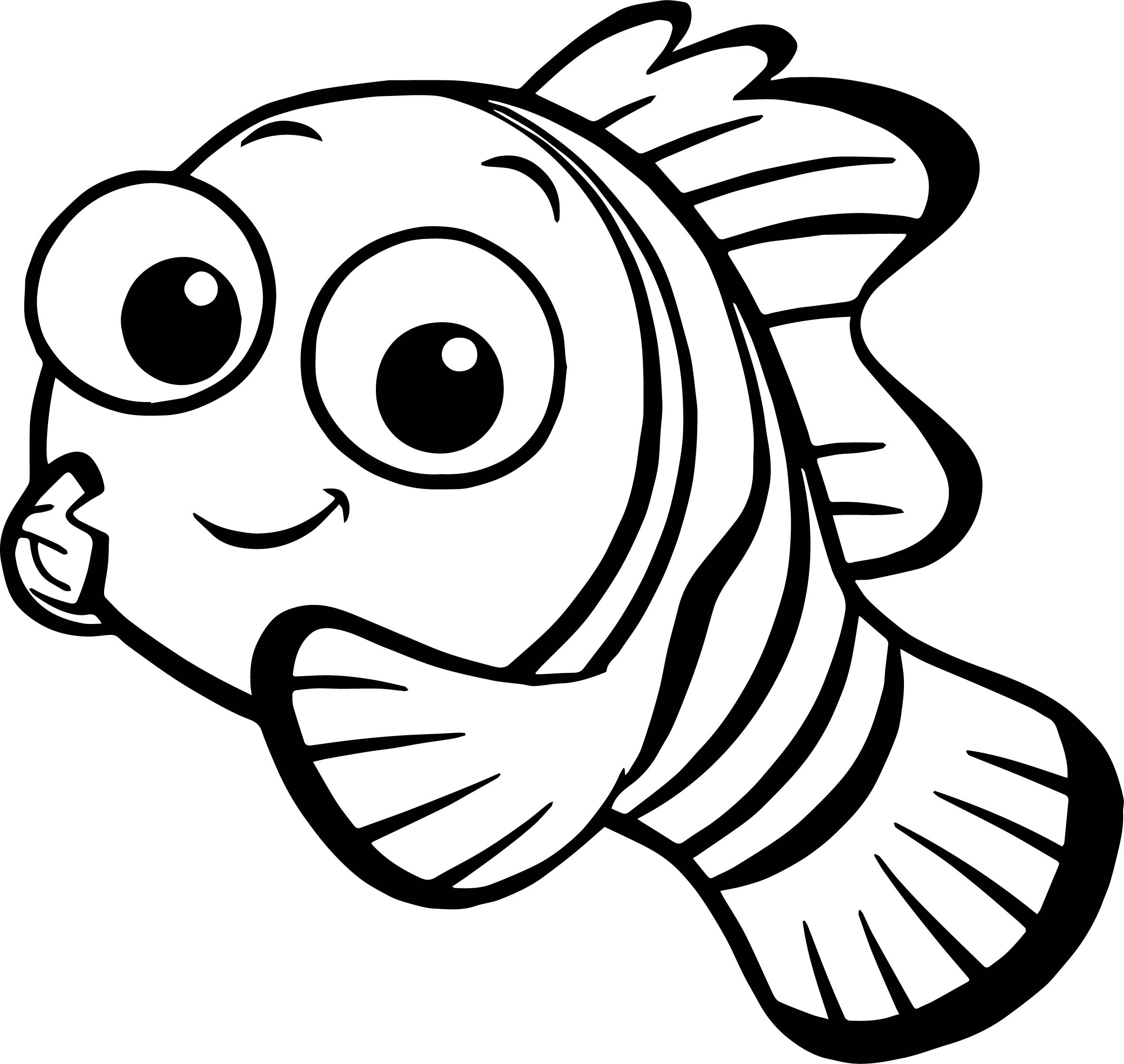 Disney Finding Nemo Nemo Coloring Pages Wecoloringpage