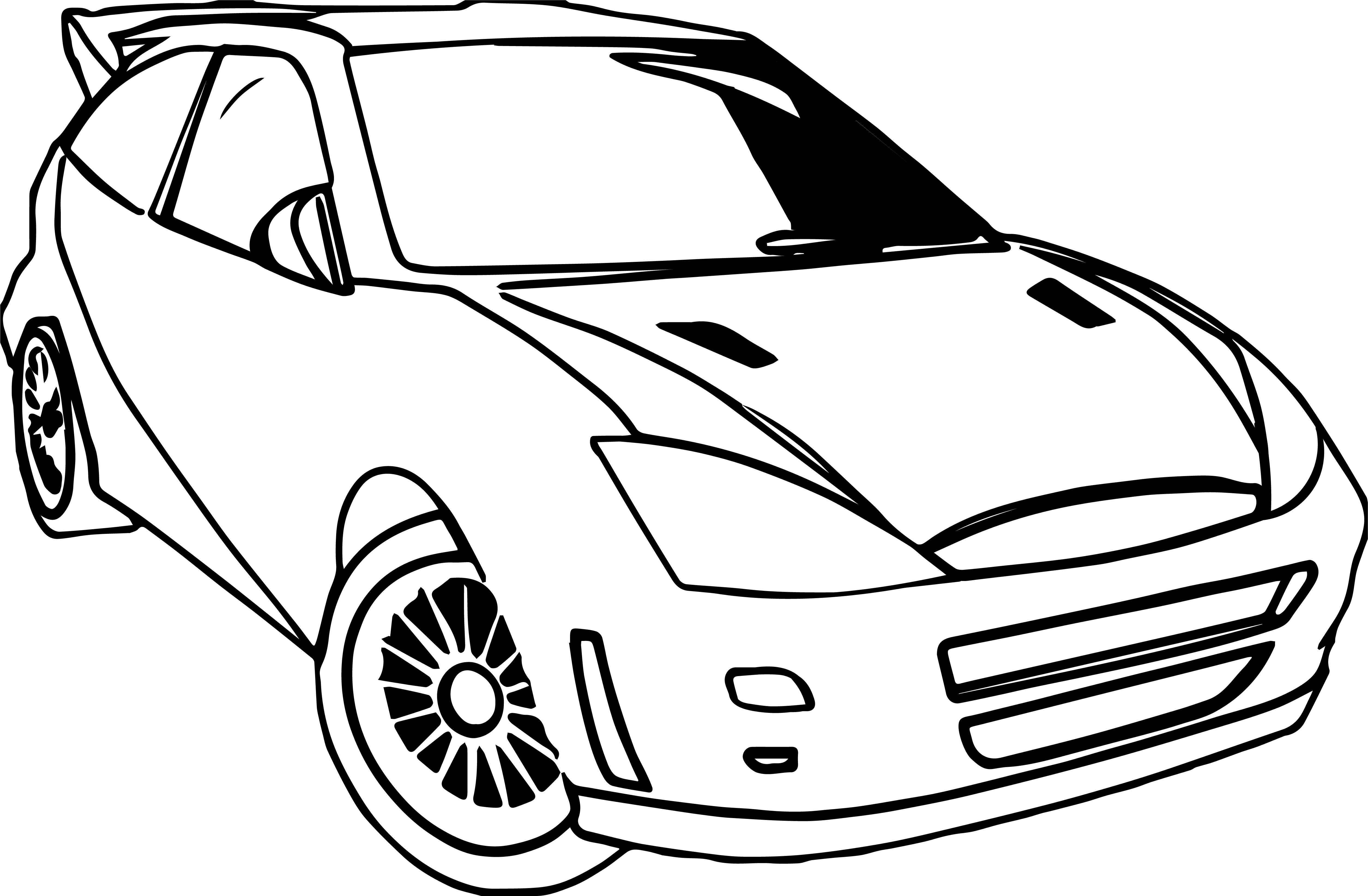 Ford Car Coloring Page