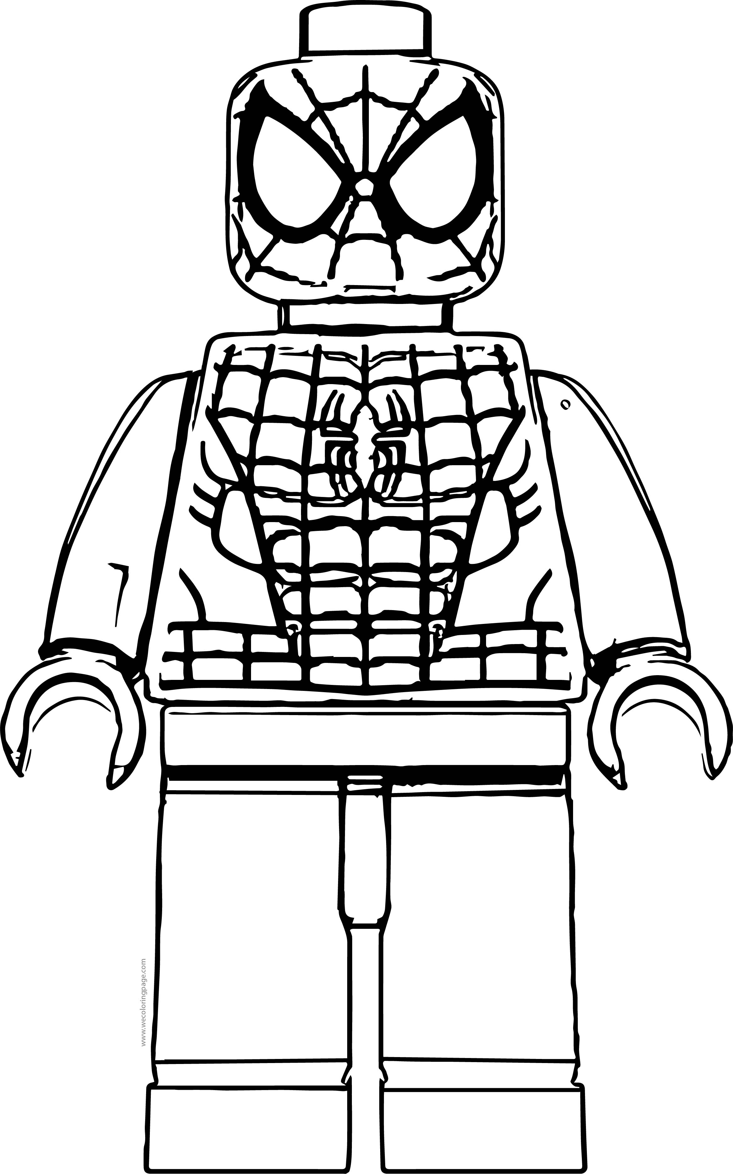 Lego Spiderman Printable Coloring Pages   Coloring Data Order