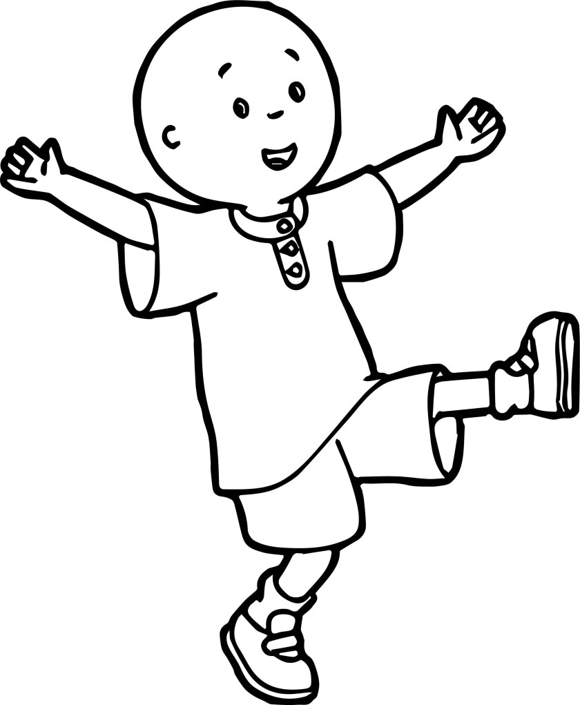 caillou coloring page wecoloringpage 049  wecoloringpage