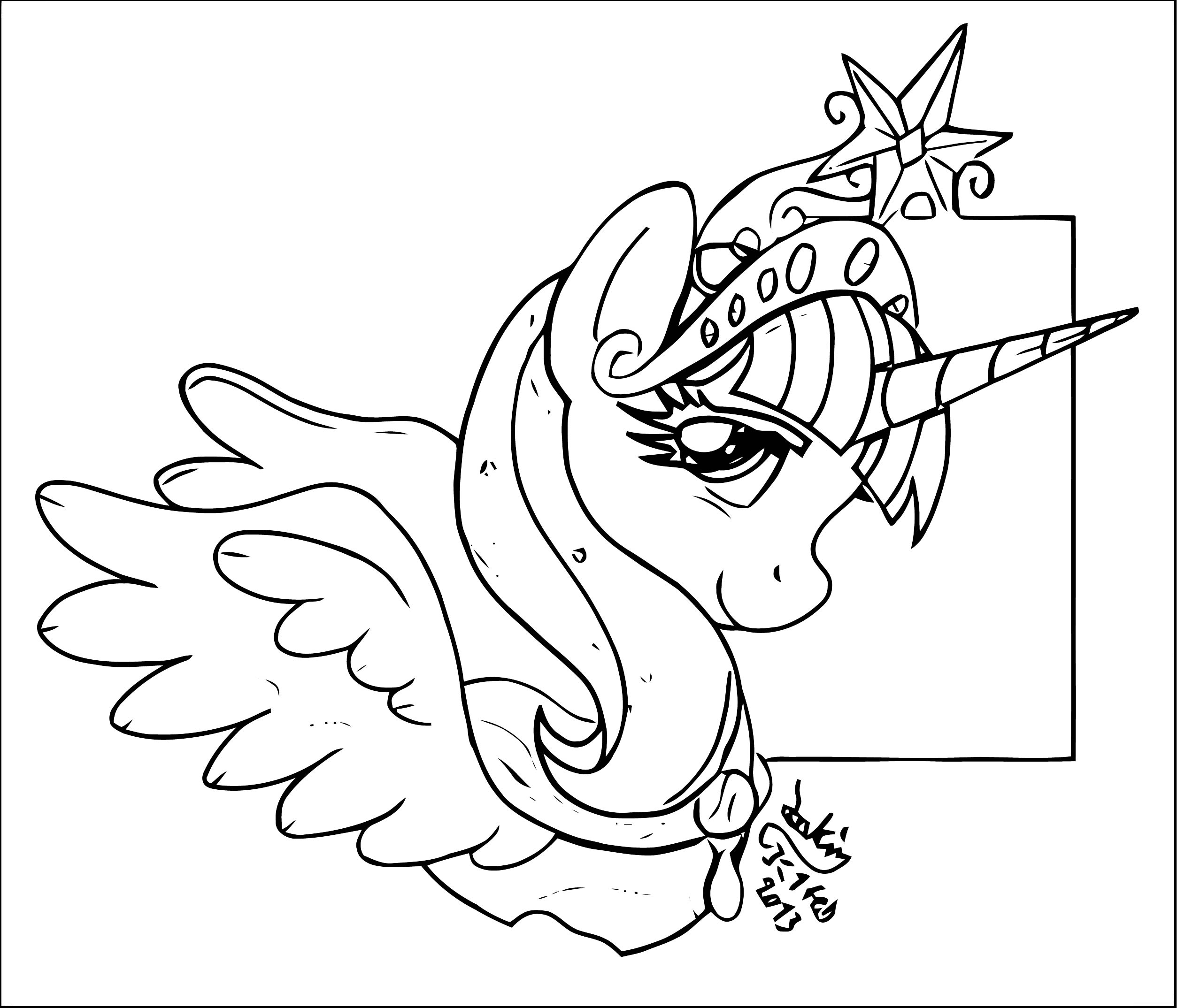 Princess Twilight Sparkle Coloring Page 168