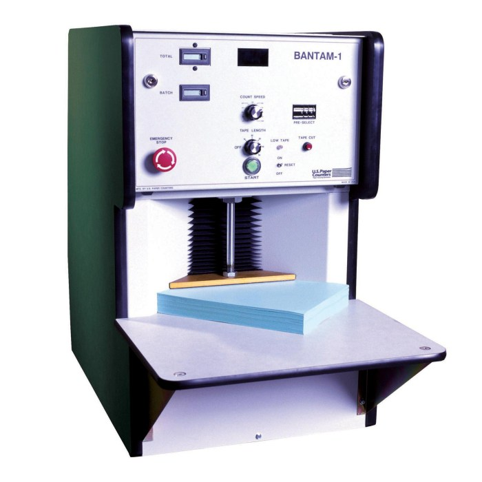 MAX-BANTAM Sheet Counter & Tabber - U.S. Paper Counters