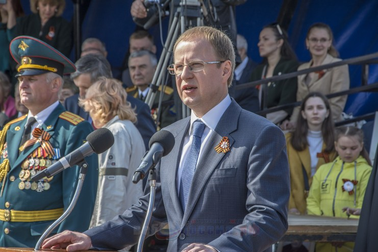 Губернатор Алтайского края - Виктор Петрович Томенко