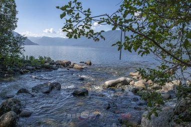 речка Корбу впадает в Телецкое озеро
