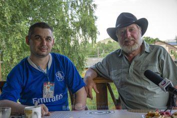 Евгений Веселовский справа и редактор проекта веброссия.рф Чанкин Виталий слева