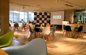 thedeck大阪のコワーキングスペース