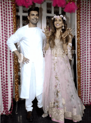 Bipasha and Karan Singh Grover's mehendi and sangeet gallery