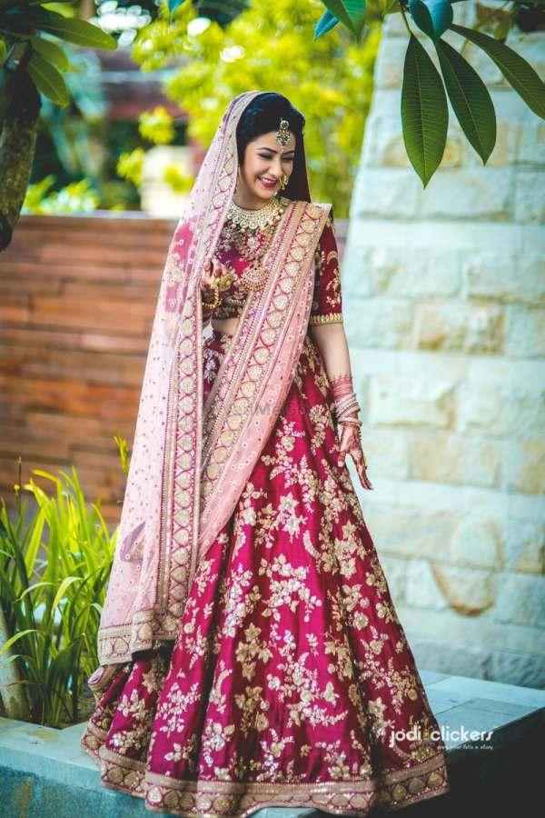 Pink Bridal Lehenga designs