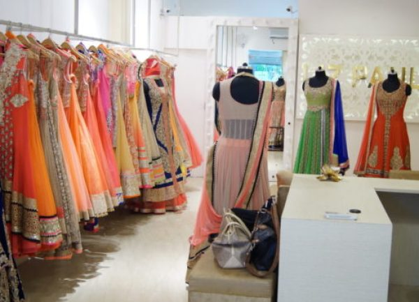 wedding shopping at Shahpur Jat