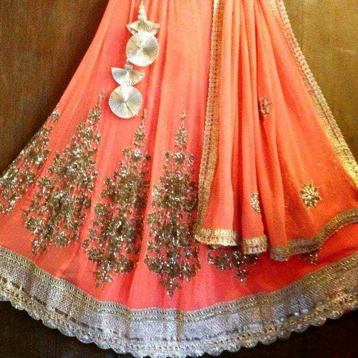designs for lehenga tassels