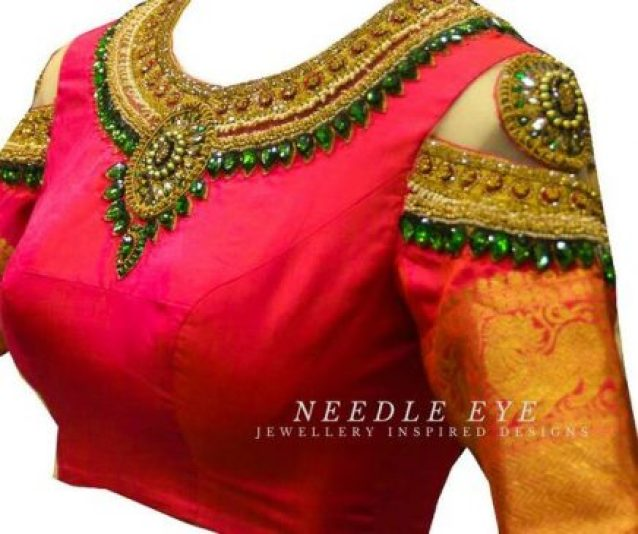 beautiful blouse designs