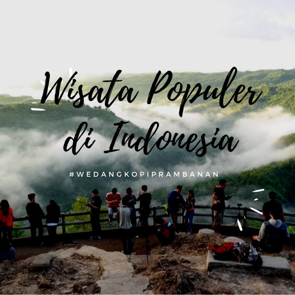 wisata populer di indonesia