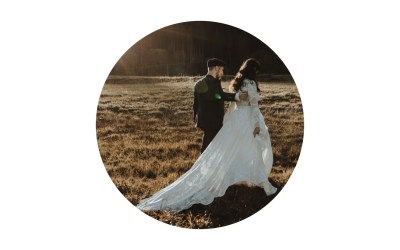 Die vegane, rustikale Hochzeit von Nina und Tim