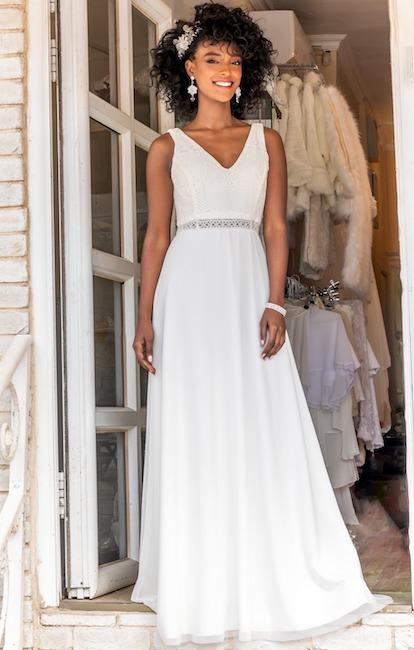 שמלות לבנות לטראש דה דרס