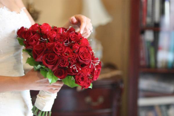 February Wedding Bouquet
