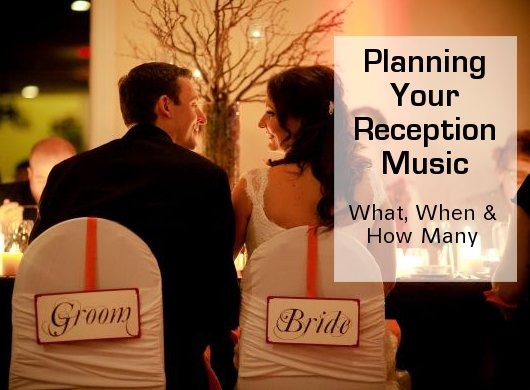 Choosing Wedding Reception Songs