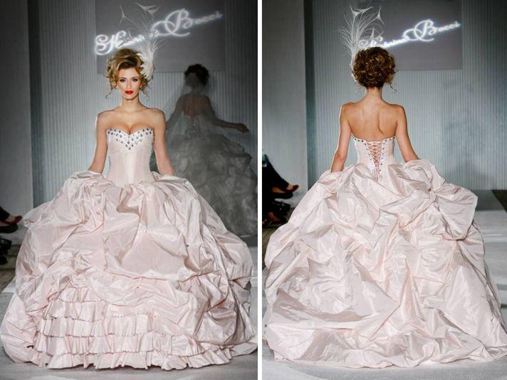 2011 Wedding Dress Trend: Big Ball Gowns, Endless Volume
