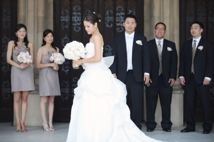 Beautiful California Wedding Classic Romance Redefined
