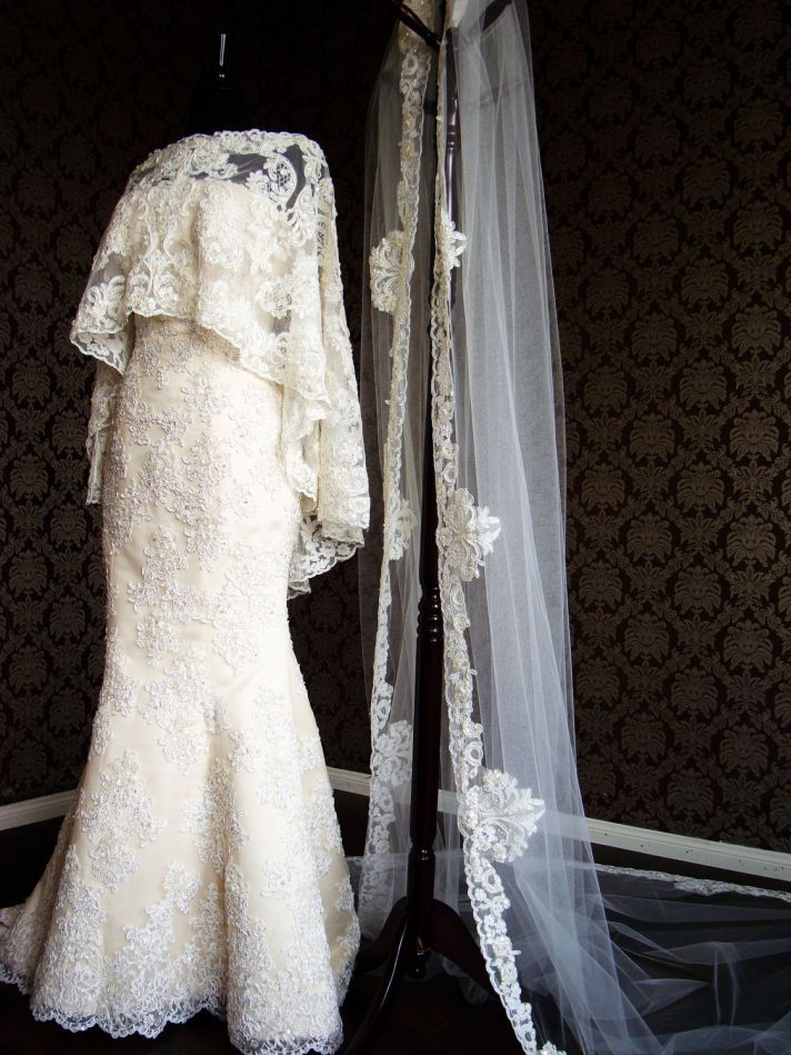 35 Statement Wedding Capes Shawls And Cover Ups OneWed