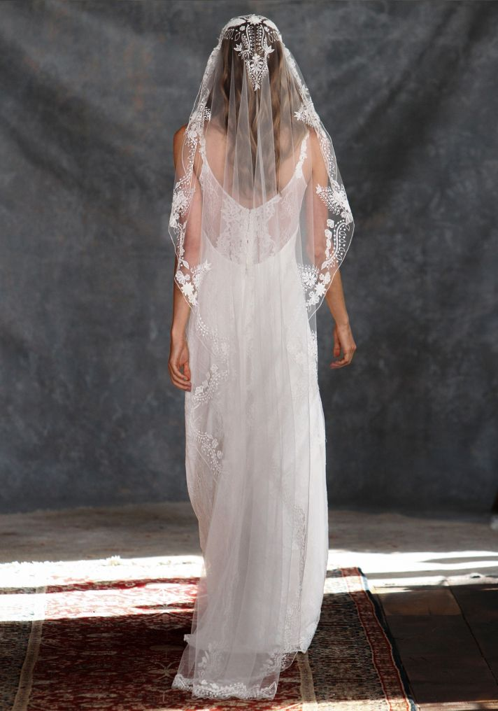 Adelaide Wedding Dress Back from Claire Pettibone s Romantique Collection