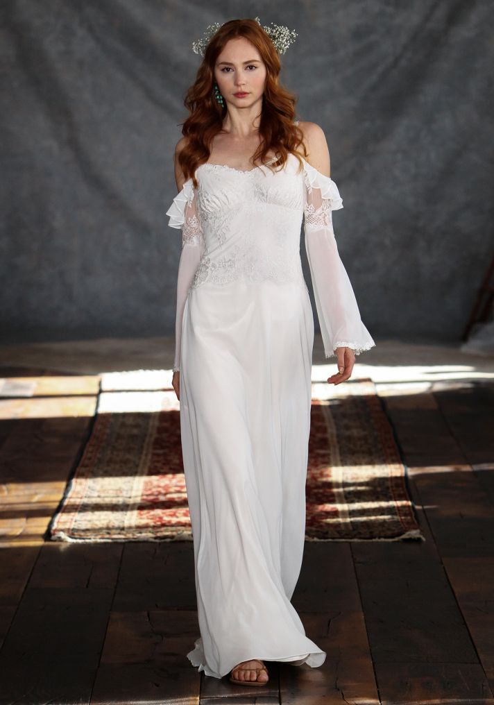 Laurel Wedding Dress from Claire Pettibone s Romantique Collection