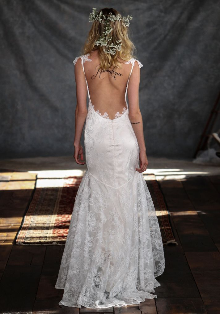 Rosemary Wedding Dress Back from Claire Pettibone s Romantique Collection