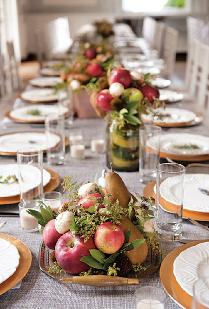 Fruit Centerpieces Perfect For Fall