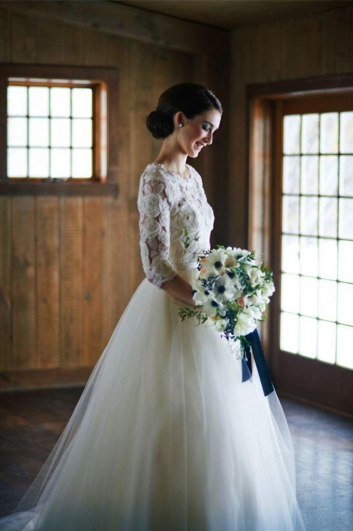 A Winter Blue Bride