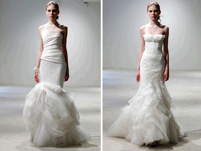 Bride Chic: Mermaid Silhouette Wedding Dresses